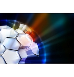 Science Background horizontal vector image vector image