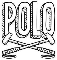 Polo vector image vector image