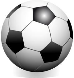 soccer game ball vector image