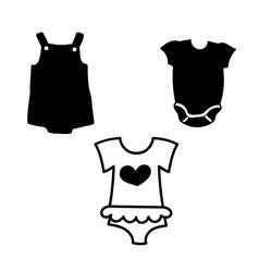 Baonesie simple black vector