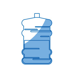 big bottle water fresh natural design vector image