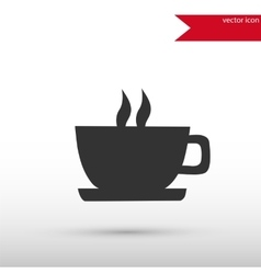 Coffee icon isolated vector image