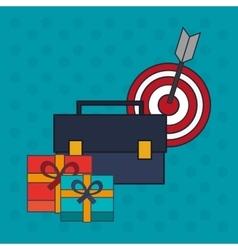 Digital Marketing design Media icon Colorfull vector image