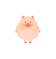 little pig chinese new year the year of the pig vector image