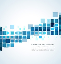 Mosiac shapes background vector