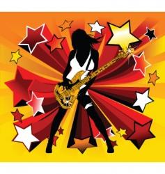 Star disco vector