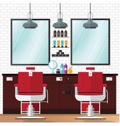 barber shop vintage vector image vector image