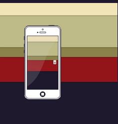 material design stripes vector image