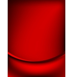 Red curtain fade to dark card EPS 8 vector image vector image