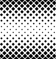 Black and white rounded square pattern vector image vector image