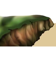 Hillside vector
