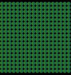 Abstract organic green circle pattern vector