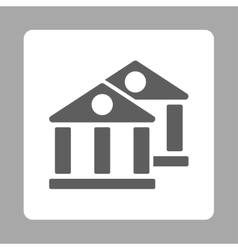 Banks icon vector