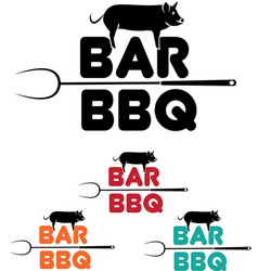 Bar bbq 2 vector