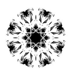 Black tribal tattoo 0005 vector