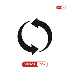 change icon vector image