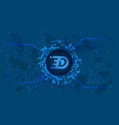 Digex token symbol defi project vector