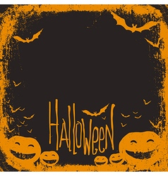 Halloween simple background vector
