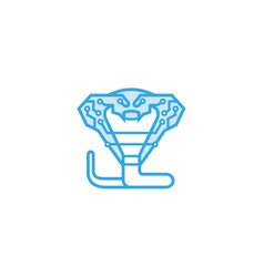 King cobra technology logo vector