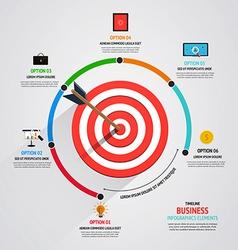 Timeline infographics design vector