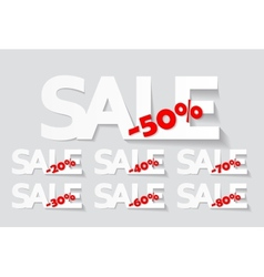Sale Labels Set vector image vector image
