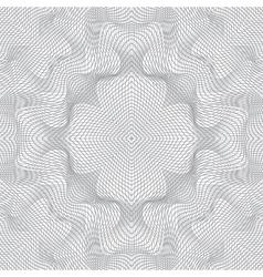 abstract guilloche background vector image