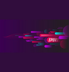 abstract sport background active motion dynamic vector image
