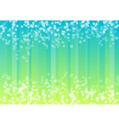 Blue and green background with hexagon vector