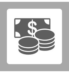 Cash icon vector