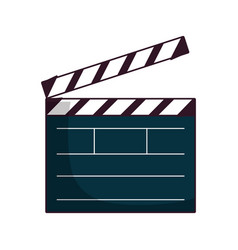 Clapboard icon image vector