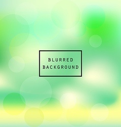 Colorful smooth gradient green yellow blur vector