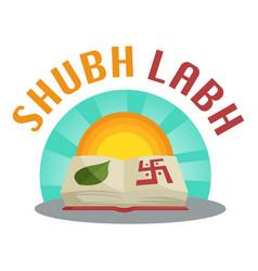 Diwali sticker vector