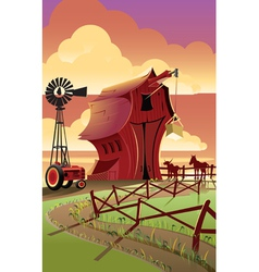 Farm2 vector image