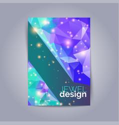 futuristic design posters future geometric design vector image