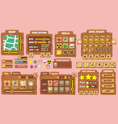 Game gui 27 vector