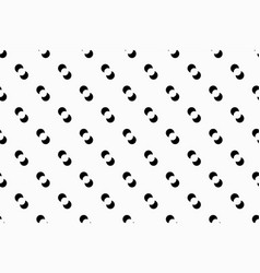 Geometric pattern with small circles vector