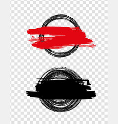Grunge off road tire stamp vector