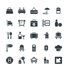 Hotel and Restaurant Cool Icons 4 vector