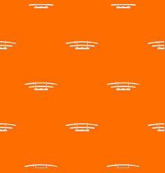 Katana japanese sword pattern seamless vector