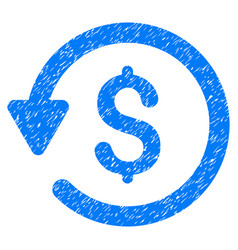 Rebate grunge icon vector