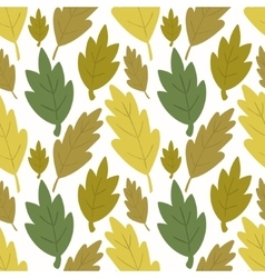Seamless forest background vector image