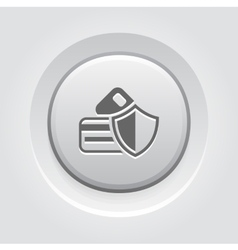 Secure Transaction Icon vector image