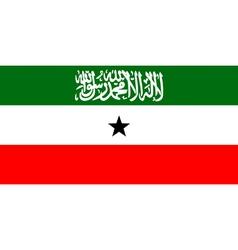 Somaliland flag vector image