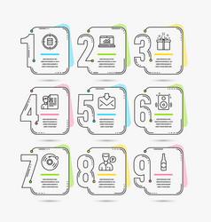 Speakers calculator target and online statistics vector