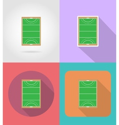 Sport flat icons 47 vector