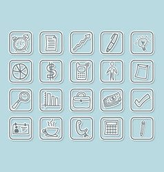 Variety icon set pack design vector