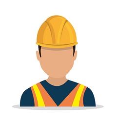 Worker industry design vector image