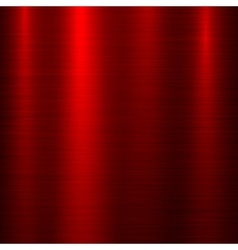 Red metal Technology Background vector image vector image