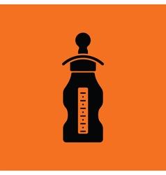 Baby bottle ico vector image vector image