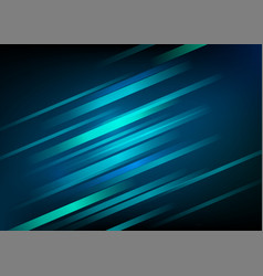 abstract blue background with light diagonal lines vector image